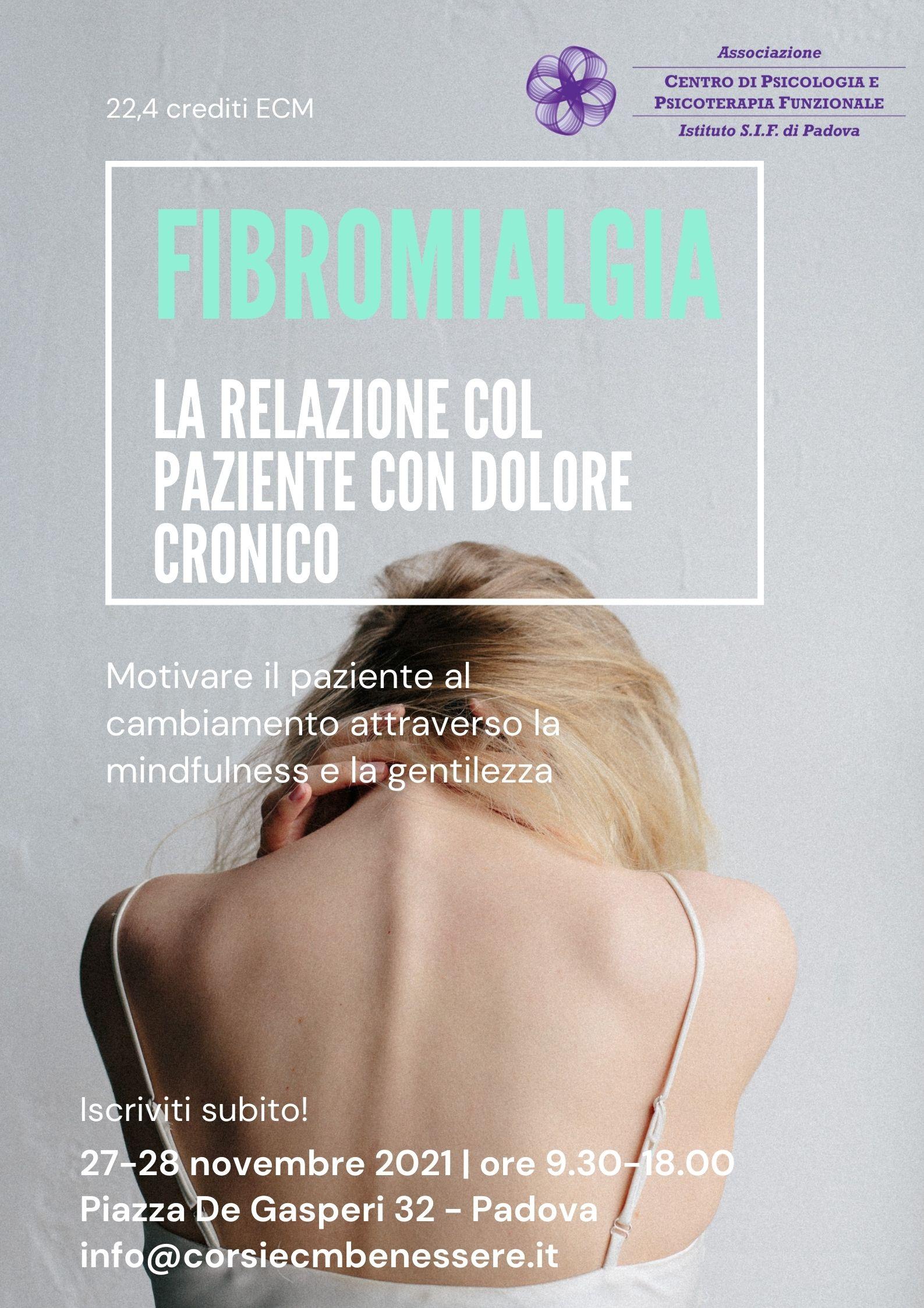 volantino fibromialgia corso